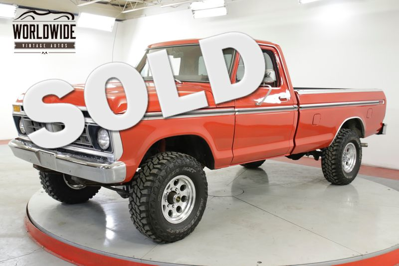 1977 Ford F250 400 V8 AUTO 4X4 FRONT DISC PS PB A/C | Denver, CO | Worldwide Vintage Autos