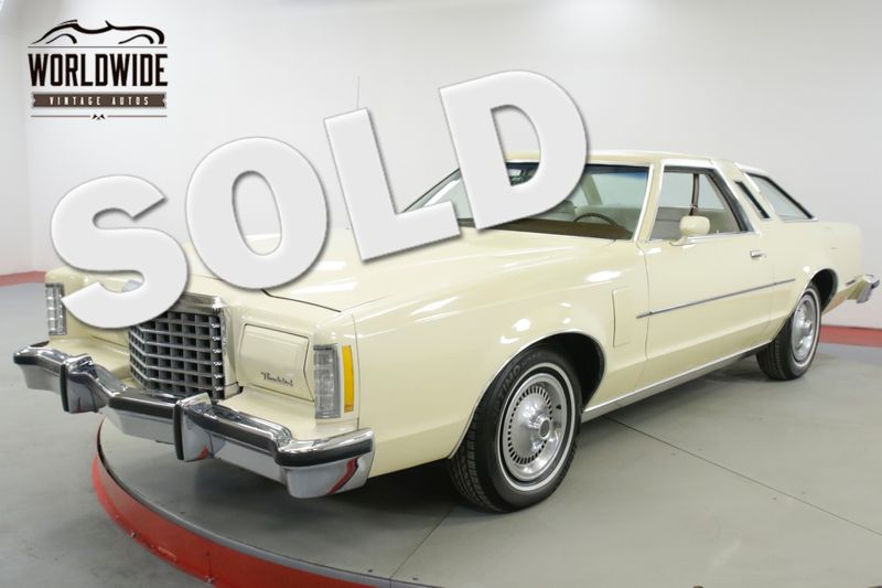 1977 Ford THUNDERBIRD TBIRD. 1 CA OWNER 49K ORIGINAL MILES. WOW.  | Denver, CO | Worldwide Vintage Autos