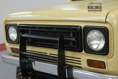 1977 International SCOUT TRAVELER. 4x4. BUILT. V8! DISC. PS. PB. AC!  | Denver, CO | Worldwide Vintage Autos in Denver, CO