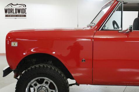 1977 International SCOUT II VORTEC POWERED! 4X4 REMOVABLE TOP PS PB  | Denver, CO | Worldwide Vintage Autos in Denver, CO
