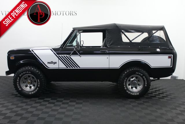 1977 International SCOUT II 345 V8 4X4 RALLYE