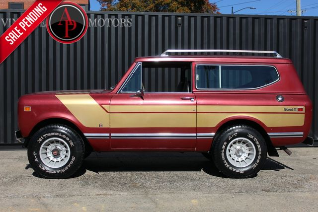 1977 International Scout V8 4X4 PS PB 94K