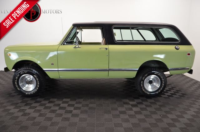 1977 International TRAVELER RARE SCOUT II FUEL INJECTED V8 AUTO