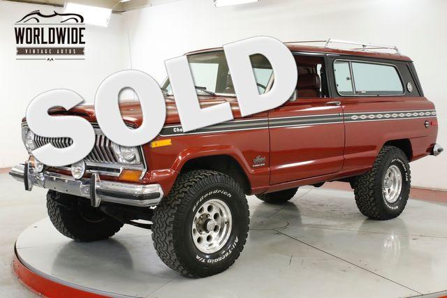 1977 Jeep CHEROKEE LS CONVERSION!! FRAME OFF RESTORED 4x4   Denver, CO   Worldwide Vintage Autos in Denver CO