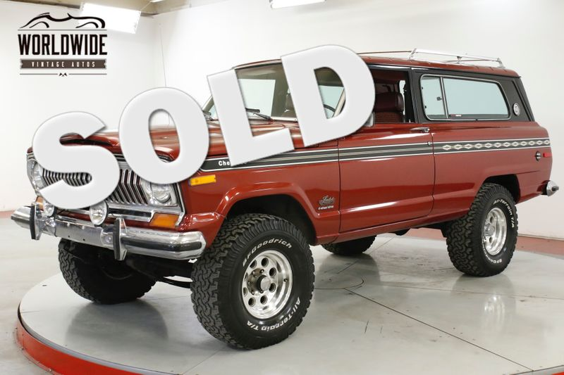 1977 Jeep CHEROKEE LS CONVERSION!! FRAME OFF RESTORED 4x4 | Denver, CO | Worldwide Vintage Autos