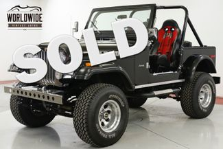 1977 Jeep CJ7 RESTORED. 383 STROKER AUTO 4X4 COLLECTOR  | Denver, CO | Worldwide Vintage Autos in Denver CO