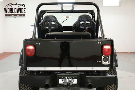 1977 Jeep CJ7 RESTORED. 383 STROKER AUTO 4X4 COLLECTOR  | Denver, CO | Worldwide Vintage Autos in Denver, CO
