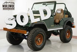1977 Jeep CJ5 RESTORED GOLDEN EAGLE 4X4 V8 PS PB COLLECTOR  | Denver, CO | Worldwide Vintage Autos in Denver CO