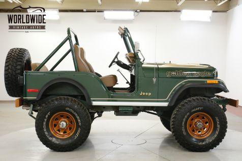 1977 Jeep CJ5 RESTORED GOLDEN EAGLE 4X4 V8 PS PB COLLECTOR  | Denver, CO | Worldwide Vintage Autos in Denver, CO