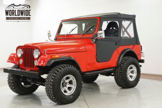 1977 Jeep CJ-5  351 V8 4-SPEED 4X4 PS PB LIFTED  | Denver, CO | Worldwide Vintage Autos in Denver CO