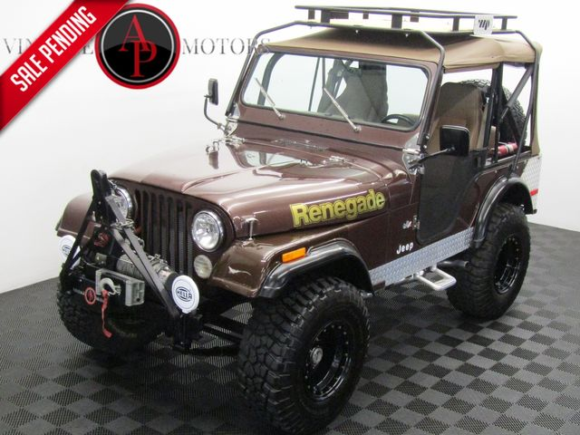 1977 Jeep CJ5 BUILT V8 PS PB