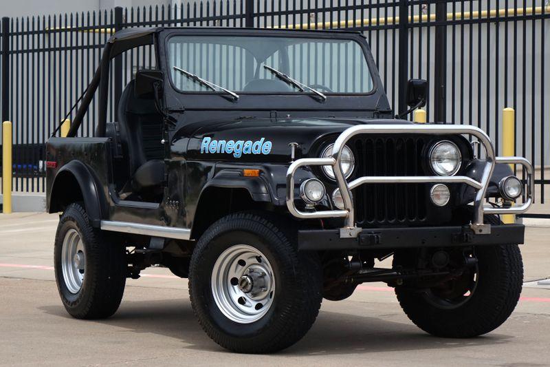 1977 Jeep CJ7 RENEGADE* V8* 3 Speed *   Plano, TX   Carrick's Autos in Plano TX
