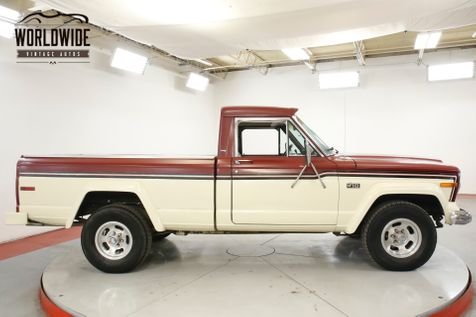 1977 Jeep J10 TRUCK COLLECTOR GRADE4x4 V8 51K MI 1OWNER  | Denver, CO | Worldwide Vintage Autos in Denver, CO