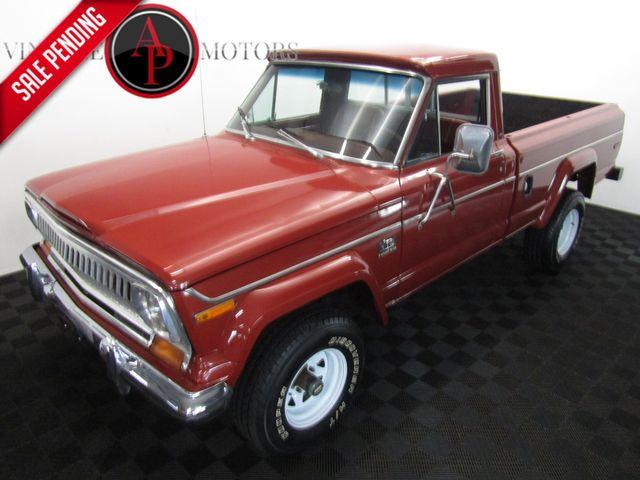 1977 Jeep J10 V8 AC 4X4 74,000 MILES