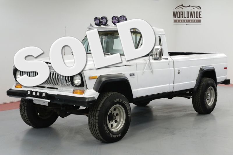 1977 Jeep J20 J2000. V8. GLADIATOR. RARE. DRIVER 4x4. | Denver, CO | Worldwide Vintage Autos