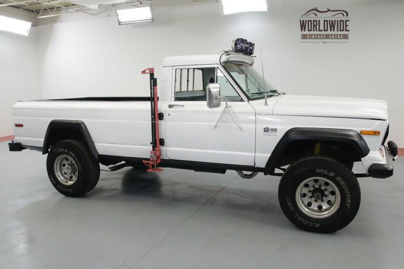 1977 Jeep J20 J2000. V8. GLADIATOR. RARE. DRIVER 4x4. | Denver, CO ...