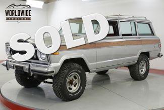 1977 Jeep WAGONEER V8 VINTAGE 4x4 AUTO PS PB CHEROKEE  | Denver, CO | Worldwide Vintage Autos in Denver CO