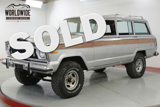 1977 Jeep WAGONEER V8 VINTAGE 4x4 AUTO PS PB CHEROKEE  | Denver, CO | Worldwide Vintage Autos in Denver CO