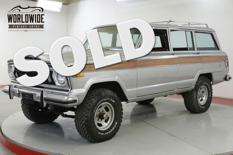 1977 Jeep WAGONEER V8 VINTAGE 4x4 AUTO PS PB CHEROKEE  | Denver, CO | Worldwide Vintage Autos