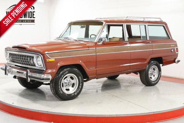 1977 Jeep WAGONEER 4x4! 360 V8 PS PB RARE COLLECTOR CHROME | Denver, CO | Worldwide Vintage Autos in Denver CO