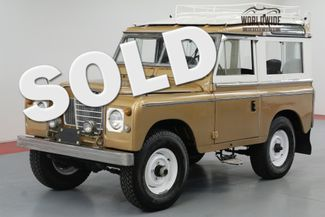 1977 Land Rover SERIES III 300 TDI TURBO. DIESEL! OVERDRIVE! 4X4! | Denver, CO | Worldwide Vintage Autos in Denver CO