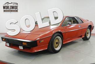 1977 Lotus ESPRIT S1 31K MI COLLECTOR GRADE 2L 5-SPEED MUST SEE | Denver, CO | Worldwide Vintage Autos in Denver CO