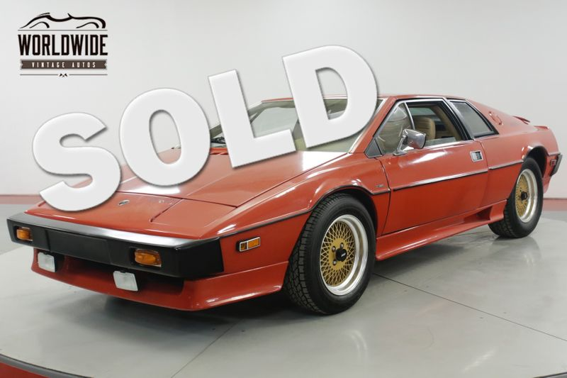 1977 Lotus ESPRIT S1 31K MI COLLECTOR GRADE 2L 5-SPEED MUST SEE | Denver, CO | Worldwide Vintage Autos
