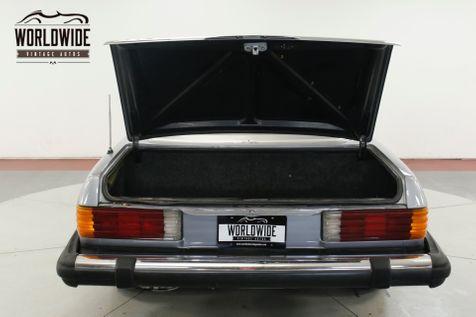 1977 Mercedes-Benz 450SL TWO TOPS BLACK LEATHER LOW MI PW PB PS AC  | Denver, CO | Worldwide Vintage Autos in Denver, CO