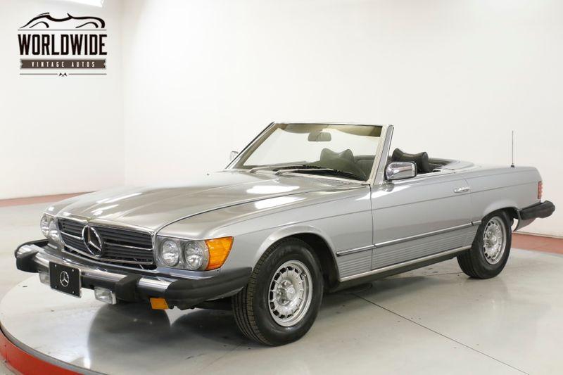 1977 Mercedes-Benz 450SL TWO TOPS BLACK LEATHER LOW MI PW PB PS AC  | Denver, CO | Worldwide Vintage Autos