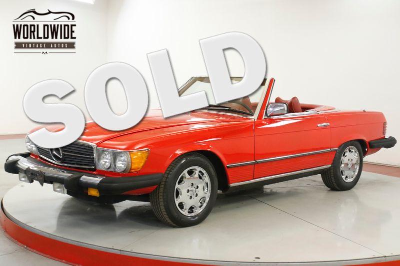 1977 Mercedes Benz 450SL CA CAR 60K ORIGINAL MI CONVERTIBLE COLLECTOR   Denver, CO   Worldwide Vintage Autos