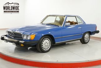 1977 Mercedes-Benz 450SL 43,XXX MILES! 4.5L  AUTO REMOVABLE HARD TOP | Denver, CO | Worldwide Vintage Autos in Denver CO