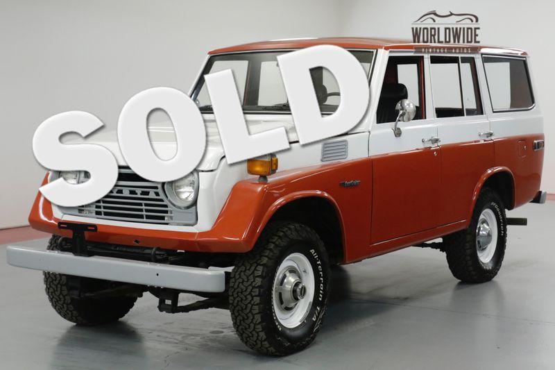 1977 Toyota LAND CRUISER  FJ55. RESTORED DRIVER. FACTORY STEEL WHEELS  | Denver, CO | Worldwide Vintage Autos