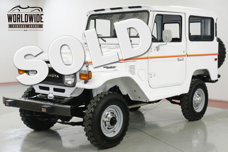 1977 Toyota LAND CRUISER  FJ40. FRAME OFF RESTORATION 4X4 PS PB  | Denver, CO | Worldwide Vintage Autos