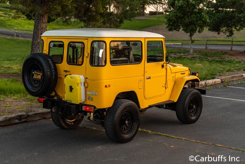 1977 Toyota Landcruiser FJ40 Diesel   Concord, CA   Carbuffs in Concord, CA