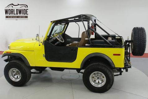 1978 Amer CJ7 304 V8. 3-SPEED MANUAL. 4X4. FULL SOFT TOP  | Denver, CO | Worldwide Vintage Autos in Denver, CO