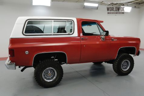1978 Chevrolet BLAZER RESTORED BIG BLOCK V8 CONVERTIBLE COLLECTOR | Denver, CO | Worldwide Vintage Autos in Denver, CO