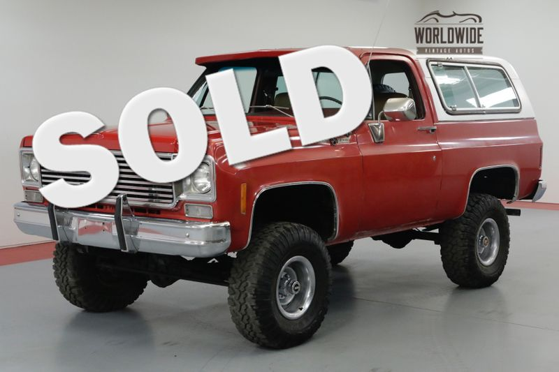 1978 Chevrolet BLAZER RESTORED BIG BLOCK V8 CONVERTIBLE COLLECTOR | Denver, CO | Worldwide Vintage Autos