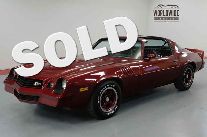 1978 Chevrolet CAMARO Z28 350 V8! 4-SPEED. A/C! PS PB T-TOPS. MUST SEE  | Denver, CO | Worldwide Vintage Autos