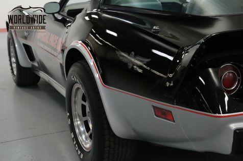1978 Chevrolet CORVETTE INDY PACE CAR. 9K MILES COLLECTOR GRADE    Denver, CO   Worldwide Vintage Autos in Denver, CO