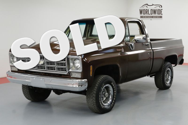 1978 Chevrolet K10 4X4. 6.0 LS! SHORT BED. PS. PB.   Denver, CO   Worldwide Vintage Autos