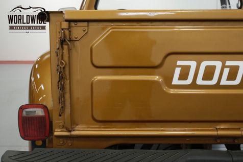 1978 Dodge POWER WAGON ONE OWNER, V8, PS, PB, FACTORY  | Denver, CO | Worldwide Vintage Autos in Denver, CO