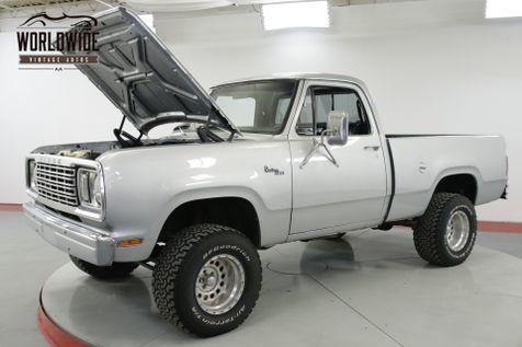1978 Dodge POWER WAGON 360 V8 4X4 PS PB SUSPENSION LIFT SHORT BED | Denver, CO | Worldwide Vintage Autos in Denver, CO