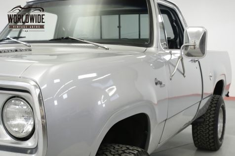 1978 Dodge POWER WAGON 360 V8 4X4 PS PB SUSPENSION LIFT SHORT BED   Denver, CO   Worldwide Vintage Autos in Denver, CO