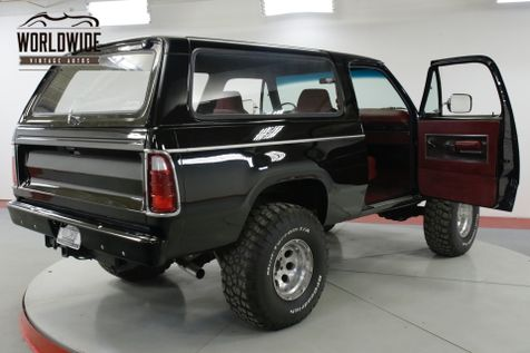 dodge ramcharger restoration parts