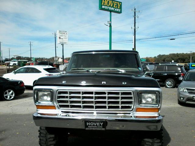 1978 Ford Bronco XLT 4X4 Boerne, Texas 2