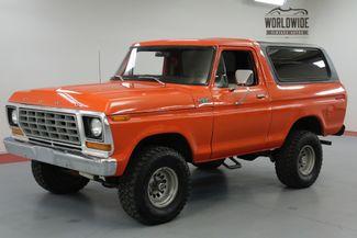 1978 Ford BRONCO CUSTOM. RESTORED. RARE V8 CONVERTIBLE!  | Denver, CO | Worldwide Vintage Autos in Denver CO
