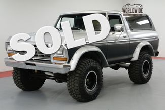 1978 Ford BRONCO 460 BIG BLOCK 3/4 TON BEAST 4-SPEED 4X4  | Denver, CO | Worldwide Vintage Autos in Denver CO