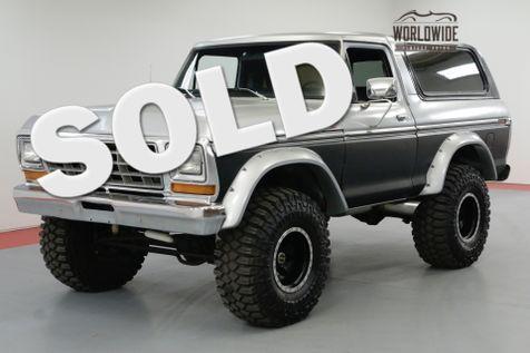1978 Ford BRONCO 460 BIG BLOCK 3/4 TON BEAST 4-SPEED 4X4  | Denver, CO | Worldwide Vintage Autos in Denver, CO