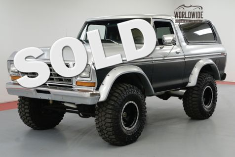 1978 Ford BRONCO 460 BIG BLOCK 3/4 TON BEAST 4-SPEED 4X4  | Denver, CO | Worldwide Vintage Autos in Denver, CO