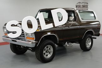 1978 Ford BRONCO  400 AUTO EFI NEW OPEN COUNTRY TIRES 285'S  | Denver, CO | Worldwide Vintage Autos in Denver CO